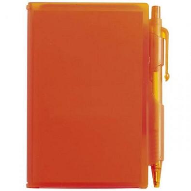 Notizblock-Set, Orange