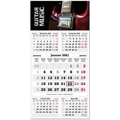 5-Monats-Wandkalender Post 2021