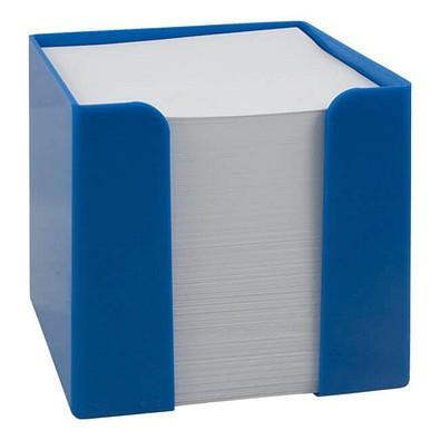 Werbe-Set: 108 Zettelboxen, inkl. Druck, blau