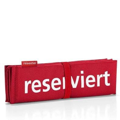 reisenthel® Sitzkissen seatpad reserviert, red