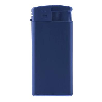 Piezo-Feuerzeug XL, Blau/Matt