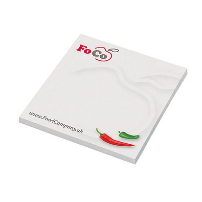 Haftnotizblock Basic Quality bestseller, 7,2 x 7,2 cm, inkl. Druck