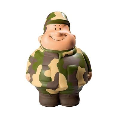 Herr Bert® Anti-Stress-Figuren Gefreiter Bert, dunkelgrün