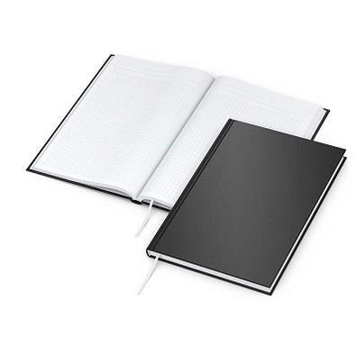 geiger notes Notizbuch Note:Book, DIN A5, Neutral, schwarz-matt