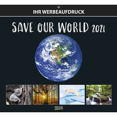 Bildkalender Save our World 2021