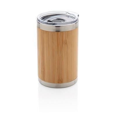 XD COLLECTION Bambus Coffee-To-Go Becher, 270 ml, braun