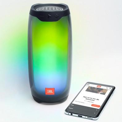 JBL® Bluetooth Lautsprecher Pulse 4, schwarz