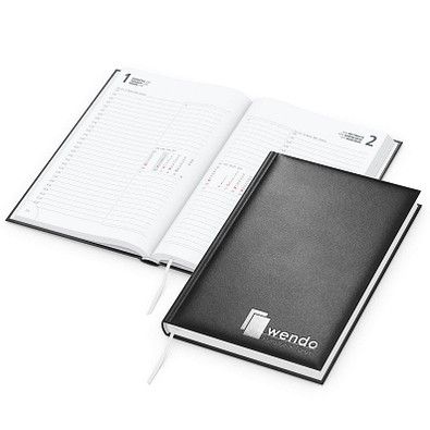 geiger notes Chef-Buchkalender Image 2021, schwarz