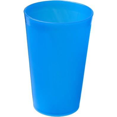 Drench Kunststoffbecher, 300 ml, blau mattiert