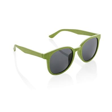 XD COLLECTION Weizenstroh Sonnenbrille ECO, grün