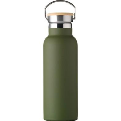 Isolierflasche Helsinki 500 ml, dunkelgrün