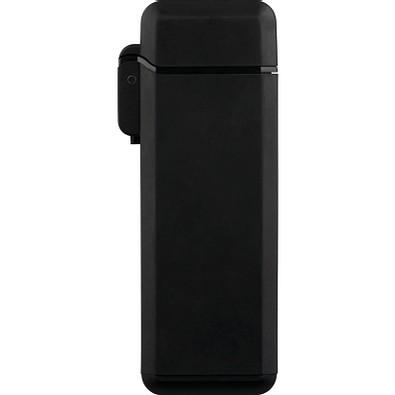 Jet-Flame Feuerzeug Go Eco, schwarz