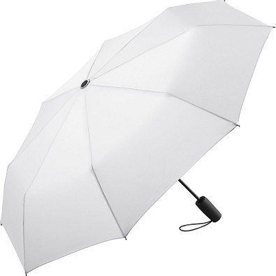 FARE® AOC Mini-Taschenschirm, weiß