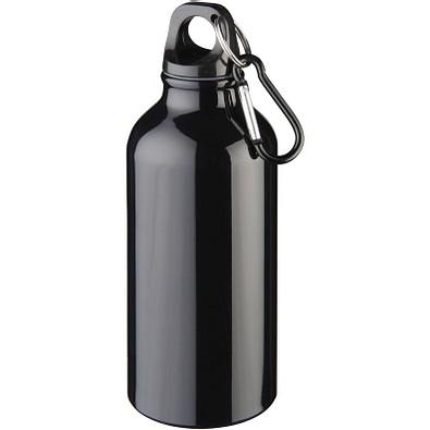 Oregon Trinkflasche mit Karabiner, 400 ml, schwarz