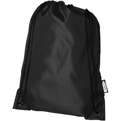Oriole Sportbeutel aus RPET, schwarz