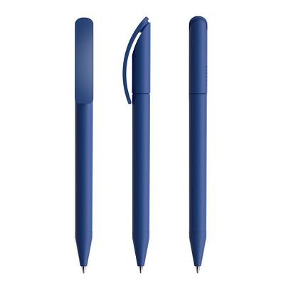 prodir® Kugelschreiber DS3 Soft Touch TRR Twist, klassikblau