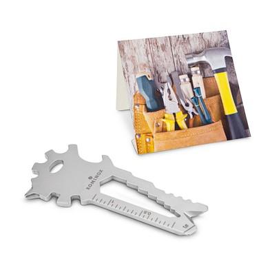 ROMINOX® Key Tool Lion Merry Christmas, silber