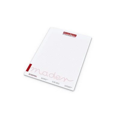geiger notes Schreibblock Quality Bestseller, DIN A4, weiß