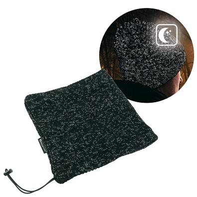 Schwarzwolf® outdoor Mogoton 2-in-1 Halstuch, schwarz