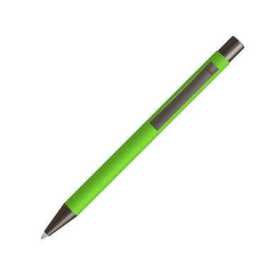 uma® Metall-Kugelschreiber Gum, blaue Mine, apfelgrün