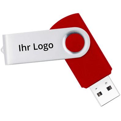 USB-Stick in Metallbox, rot, 8 GB