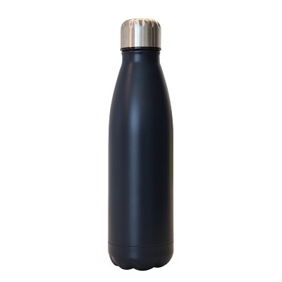 Vakuum-Isolierflasche premium, 500 ml, navyblau matt