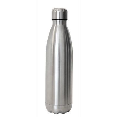 Vakuum-Isolierflasche 500ml, silber
