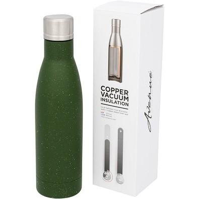 Vasa gesprenkelte Kupfer-Vakuum Isolierflasche, 500 ml, grün