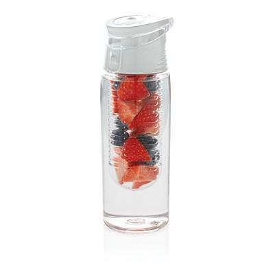 XD COLLECTION Verschließbare Aromaflasche, 700 ml, transparent/weiß