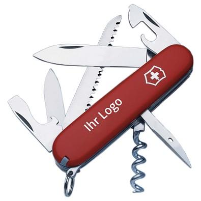 VICTORINOX Taschenmesser Camper, 13 Funktionen, rot