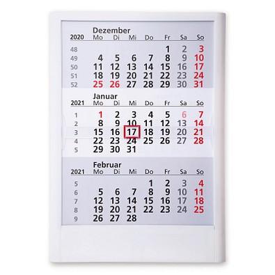 2-Jahres-Wandkalender 2021/2022, Weiß