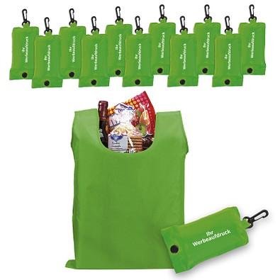 Werbe-Sparset: Einkaufstaschen, 100-tlg., inkl. Druck, hellgrün